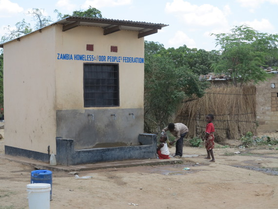 Water Kiosk in Kalunduville settlement, Kafue, Zambia