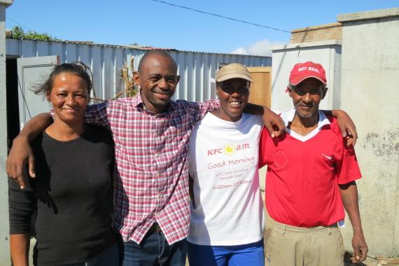 With Kuku Town Steering Committee, Kensington