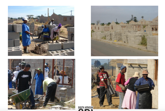 Community-Based Implementation at Alliance's Namibia Stop 8 Housing Project in eThekwini Municipality