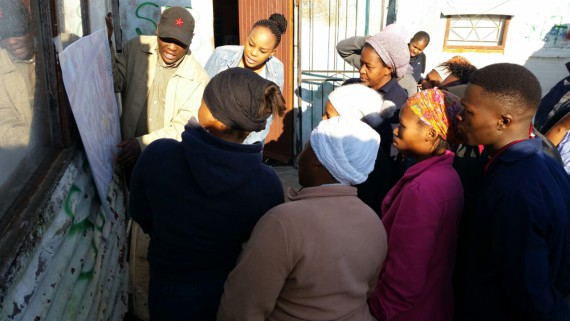 ISN community evaluates co-produced settlement design for community-led upgrading in Mfuleni, Cape Town.