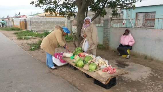 Bulelwa Msila & her mother sell vegetables in New Brighton, Port Elizabeth