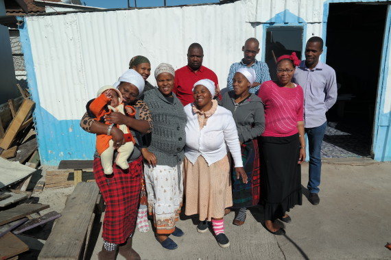 This blog was written by Santini's community documenters depicted in this picture: Veronica Lebakeng, Nwabisa Ndzendze, Bathandwa Yengeni, Loniswa Dumbela. Grace Lebakeng, Thobela Nqophiso, Thulie Lebakeng, Thanduxolo Bayibile, Melikhaya Nqopiso, Likuwe Bayibile