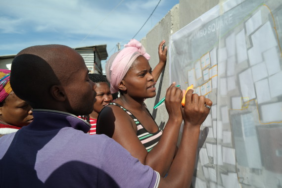 Co-planning and preparing for informal settlement upgrading plans