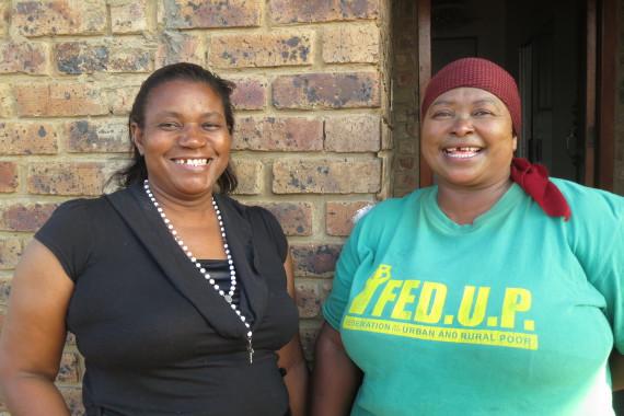 Rose Molokoane (Left), Nomovula Mahlangu (Right)