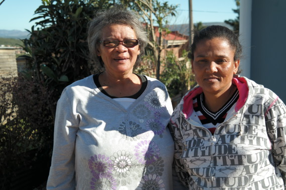 Dolly Cedras (left) and Leana Ceasar (right)