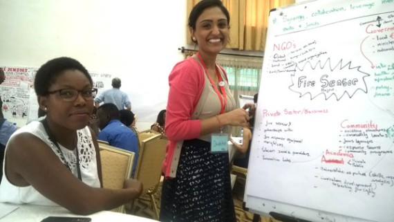CORC (Thandeka Tshabalala) and Red Cross in conversation on fire sensor technologies
