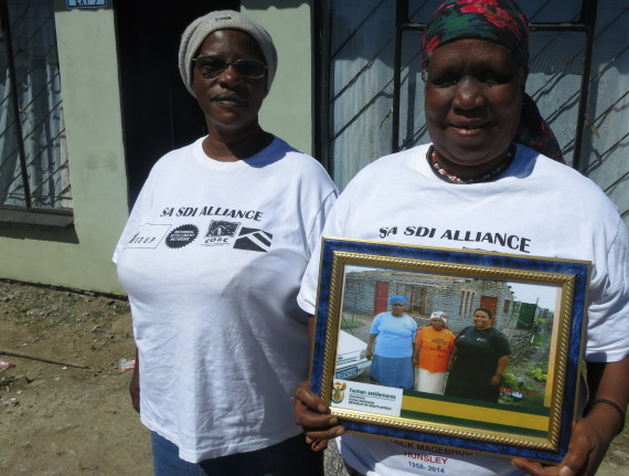 Supporting Mpumalanga FEDUP members in building PHP houses