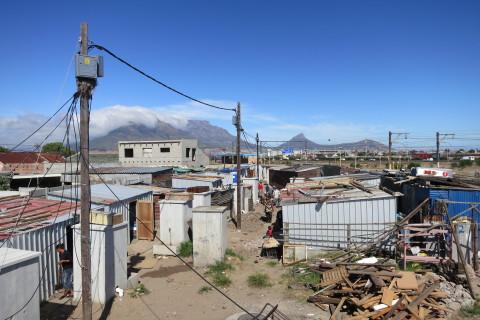 Kuku Town before re-blocking