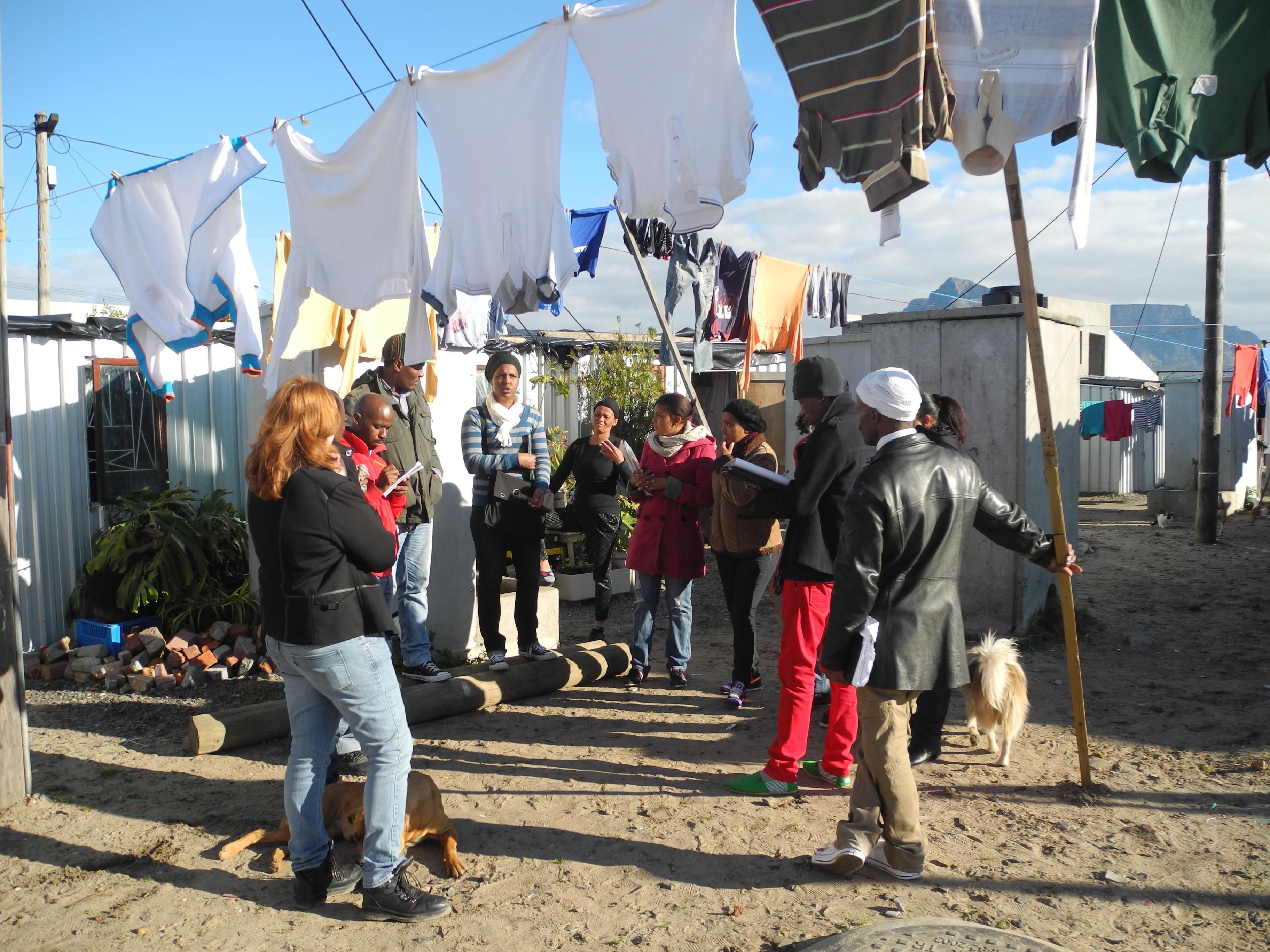 Site visit in Kuku Town