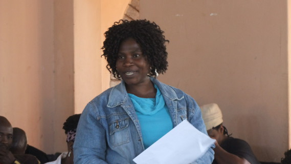 Rosina Mufamadi (FEDUP Limpopo)
