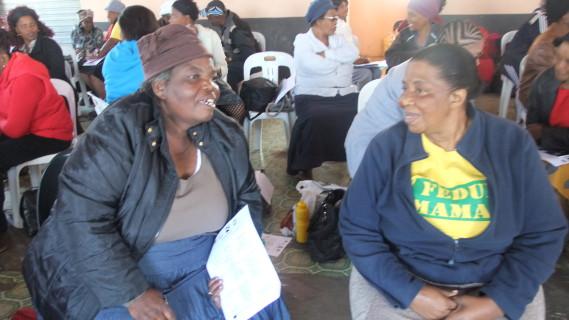Right: MaMkhabela (FEDUP KZN)