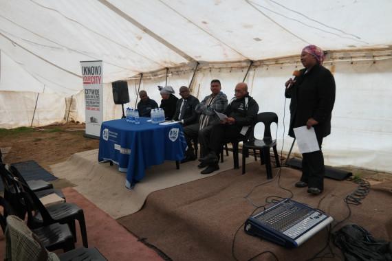 Thozama Nomnga, Western Cape FEDUP coordinator