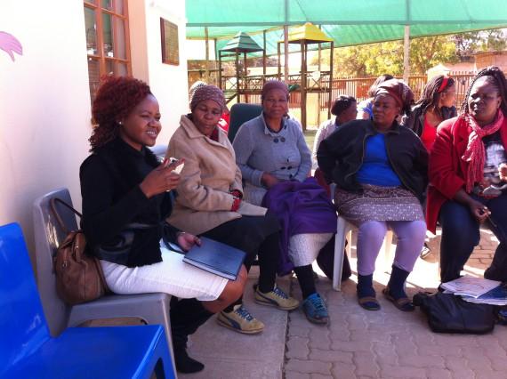 Gointse (Trust for Community Initiatives) explains partnership with Stanbic