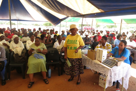 Mafikeng Network Meeting in March 2015