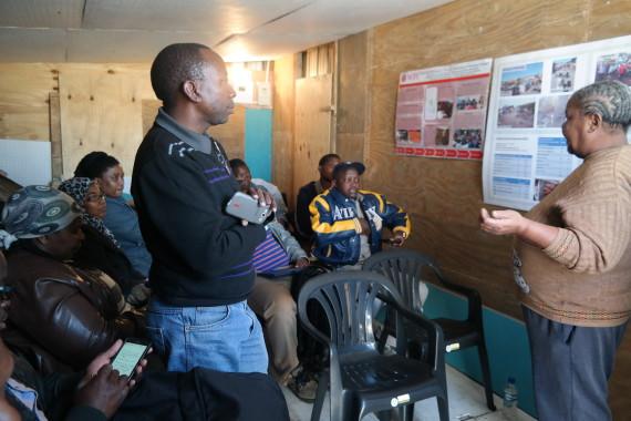 community leader sharing Flamingo Heights History