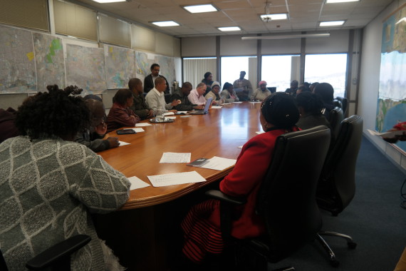 City of Cape Town partnership meeting