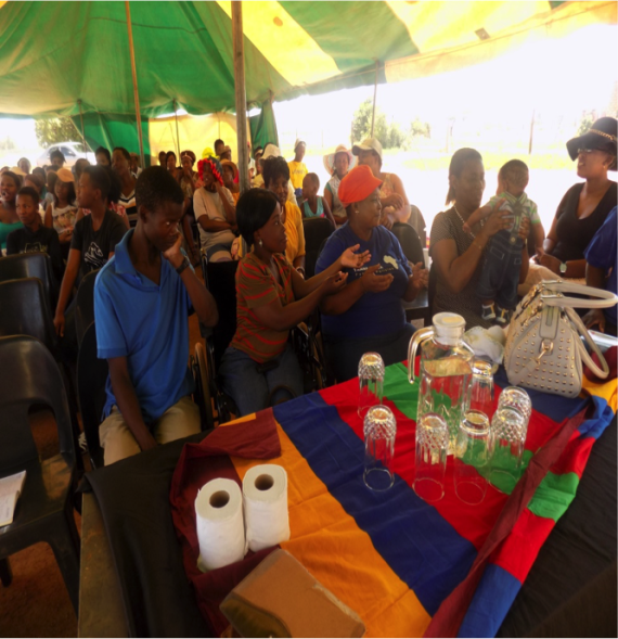 More impressions of KwaNdebele savings meeting