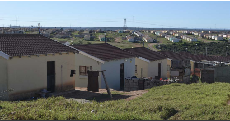 Governemental subsidy housing in Joe Slovo picture: saga